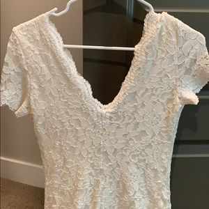 Kimchi Blue Dresses - Urban Outfitters White Lace Dress